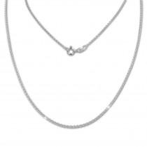SilberDream Kette Anker rund 925 Sterling Silber 42cm Damen Halskette SDK28842J