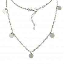 SilberDream Halskette Orient 925er Sterling Silber Kette SDK29538J