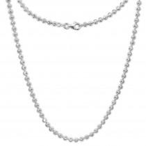 SilberDream Halskette Moon 925er Silber 45cm Kette SDK30245J