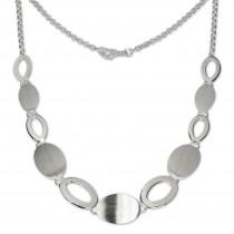 SilberDream Collier Kette Grazie 925 Vollsilber 45cm Halskette SDK408