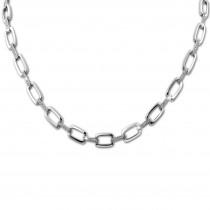SilberDream Collier Zirkonia weiß 925er Silber 46cm Halskette SDK445W