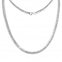 SilberDream Collier Pfeile Zirkonia weiß 925er Silber 45cm Halskette SDK451W