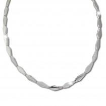SilberDream Collier Kette Fantasie 925 Silber 45cm Halskette Damen SDK468J