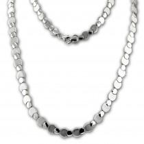 SilberDream Collier Kette Circles 925er Silber 44,5cm Damen Halskette SDK474J
