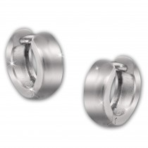 SilberDream Creole Glanz 11mm 925 Sterling Silber Ohrring SDO4298J