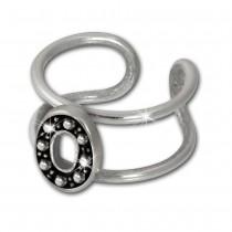 SilberDream Ohrklemme Oval Ear Cuff 925 Sterling Silber Fake Piercing SDO8878J