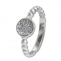 SilberDream Ring Zirkonia-Kreis weiß Gr.54 aus 925er Silber SDR408W54