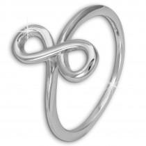 SilberDream Ring Unendlichkeit Gr. 58 Sterling 925er Silber SDR451J58