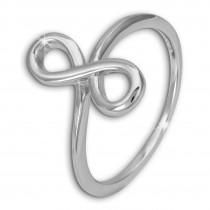 SilberDream Ring Unendlichkeit Gr.60 Sterling 925er Silber SDR451J60