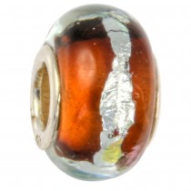IMPPAC Glas Bead 925 Spacer Earth European Beads SMB8024