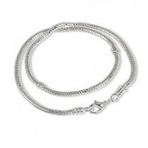 IMPPAC Karabiner Halskette 41cm für European Beads SMP165C