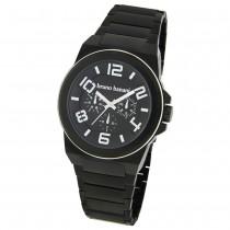 Bruno Banani Herren Uhr schwarz-silber Zelos Uhren Kollektion UBR21124