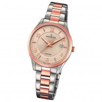 Candino Damen-Uhr Edelstahl silber roségold C4610/2 Quarz Klassisch UC4610/2