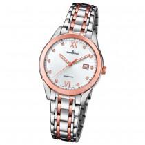 Candino Damen-Armbanduhr Edelstahl silber braun C4617/2 Quarz Klassisch UC4617/2
