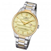 Candino Herren Armbanduhr Classic C4639/2 Edelstahl Quarz silber gold UC4639/2