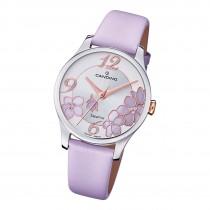 Candino Damen Armbanduhr Elegance C4720/2 Analog Leder lila UC4720/2