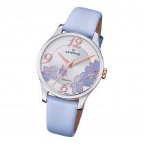Candino Damen Armbanduhr Elegance C4720/3 Analog Leder lila flieder UC4720/3