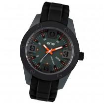 Ene Watch Modell 107 Man, schwarz, 48mm, Silikon-Armband UE72548
