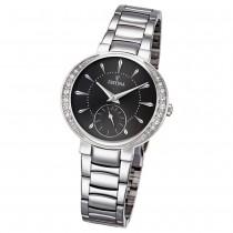 Festina Damen-Armbanduhr Mademoiselle analog Quarz Edelstahl silber UF16909/2