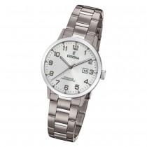 Festina Damen Armbanduhr Klassik F20436/1 Quarz Titan silber UF20436/1