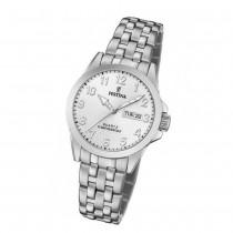 Festina Damen Armbanduhr Klassik F20455/1 Quarz Edelstahl silber UF20455/1
