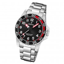 Festina Kinder Armbanduhr Junior Collection F20459/3 Edelstahl silber UF20459/3