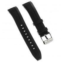 Festina Herren Uhrenarmband 21mm PU-Band schwarz für Festina F16829 F16828 UFA16829/S