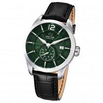 JAGUAR Herren-Armbanduhr ACM Saphirglas Quarz Leder schwarz UJ663/3