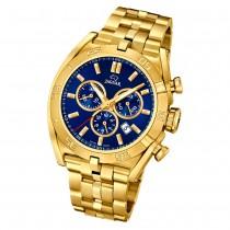 Jaguar Herren-Armbanduhr Edelstahl gold J853/3 Saphir Executive UJ853/3