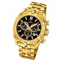 Jaguar Herren-Armbanduhr Edelstahl gold J853/4 Saphir Executive UJ853/4