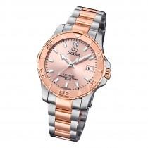 Jaguar Damen Armbanduhr Cosmopolitan J871/4 Edelstahl silber rosegold UJ871/4