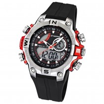 Calypso Herrenchronograph schwarz/rot Uhren Kollektion UK5586/1