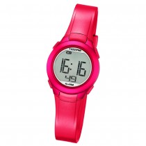 Calypso Damen-Armbanduhr Dame/Boy digital Quarz PU pink UK5677/4