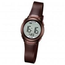 Calypso Damen-Armbanduhr Dame/Boy digital Quarz PU braun UK5677/6