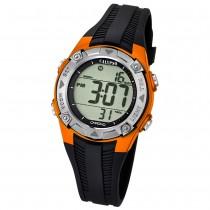 CALYPSO Kinder-Armbanduhr Fashion Chronograph Quarz-Uhr PU schwarz UK5685/7