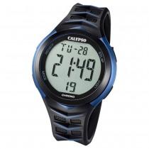 Calypso Armbanduhr Herren Digital for Man K5730/2 Quarz PU schwarz blau UK5730/2