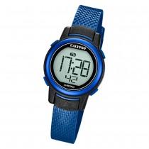 Calypso Kinder Armbanduhr Digital Crush K5736/6 Quarz-Uhr PU blau UK5736/6