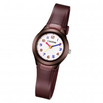 Calypso Kinder Armbanduhr Sweet Time K5749/7 Quarz-Uhr PU braun UK5749/7