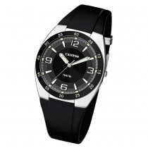 Calypso Herren Armbanduhr Street Style K5753/3 Quarz-Uhr PU schwarz UK5753/3
