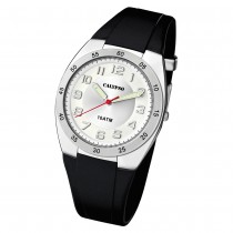 Calypso Herren Armbanduhr Street Style K5753/4 Quarz-Uhr PU schwarz UK5753/4