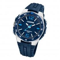 Calypso Herren Jugend Armbanduhr Outdoor K5778/3 Analog Kunststoff blau UK5778/3