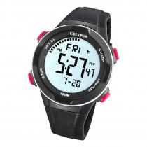 Calypso Herren Jugend Armbanduhr K5780/2 Digital Kunststoff schwarz UK5780/2