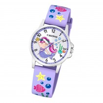 Calypso Kinder Armbanduhr Junior K5782/2 Analog Kunststoff lila UK5782/2