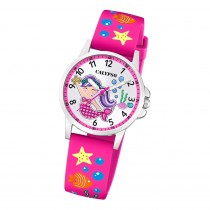 Calypso Kinder Armbanduhr Junior K5782/3 Analog Kunststoff pink UK5782/3