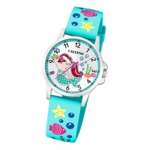 Calypso Kinder Armbanduhr Junior K5782/4 Analog Kunststoff türkis UK5782/4