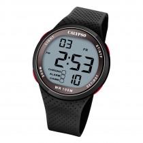 Calypso Herren Jugend Armbanduhr Sport K5785/4 Digital Kunststoff schwarz UK5785/4