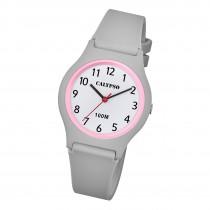 Calypso Jugend Armbanduhr Casual K5798/5 Analog Kunststoff grau UK5798/5