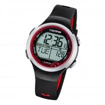 Calypso Damen Herren Armbanduhr K5799/6 Digital Kunststoff schwarz UK5799/6