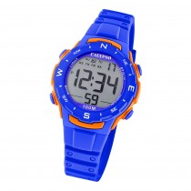 Calypso Damen Herren Armbanduhr Sport K5801/3 Digital Kunststoff blau UK5801/3