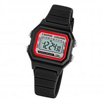 Calypso Damen Herren Armbanduhr K5802/6 Digital Kunststoff schwarz UK5802/6